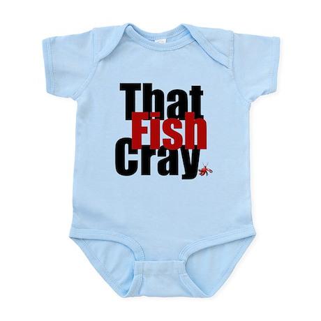 Fish CRAY Infant Bodysuit
