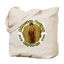 American Outlaw ~ Billy The K Tote Bag