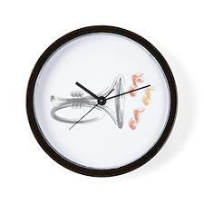 Mellphone Sketch Wall Clock