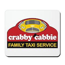 Crabby Cabbie Mousepad