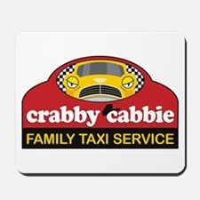 Crabby Cabbie Mousepad