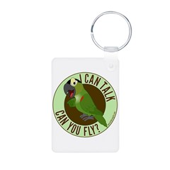 ICT,CYF Black Capped Conure Keychains