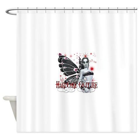 Gothic Fairy 3 HardCore Coutu Shower Curtain