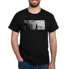 charlie chaplan posteredge 2logo T-Shirt