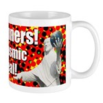 Jesus Cosmic Bowling Coffee Mug