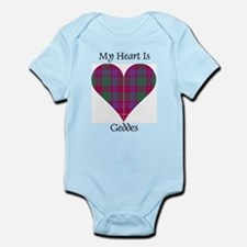 Heart - Geddes Infant Bodysuit