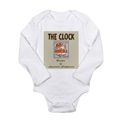 The Clock Broiler Lynwood Long Sleeve Infant Bodys