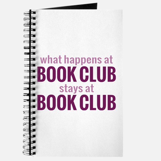 What Happens at Book Club Journal