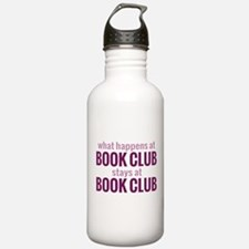 What Happens at Book Club Water Bottle