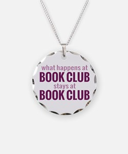 What Happens at Book Club Necklace