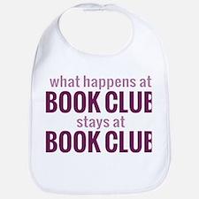 What Happens at Book Club Bib