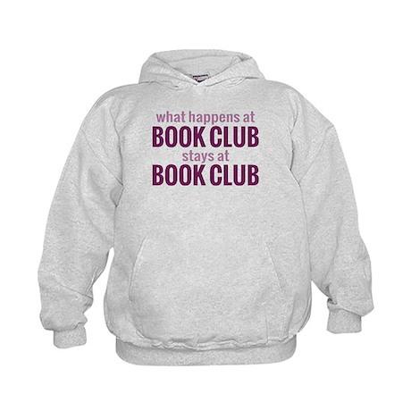 What Happens at Book Club Kids Hoodie