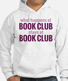 What Happens at Book Club Hoodie