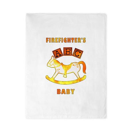 Firefighter's Baby Twin Duvet