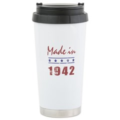 Made In 1942 Stainless Steel Travel Mug