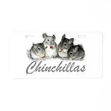 Chinchilla License Plate
