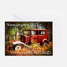 Humorous Birthday Greeting Card (blank inside)