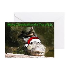 Christmas Reptiles Greeting Cards (Pk of 10)