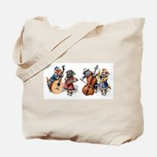 Jazz Cats Tote Bag