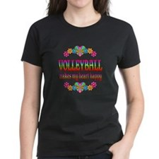 Volleyball Happy Tee