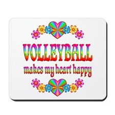 Volleyball Happy Mousepad