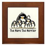 The More.. Penguin Group Framed Tile