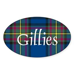 Tartan - Gillies Decal