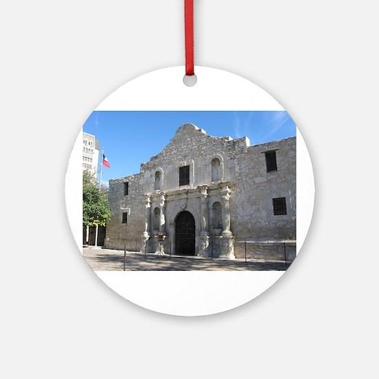 Alamo Ornament (Round)