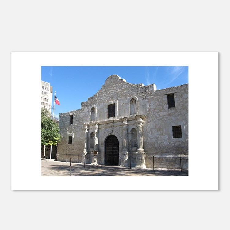 Alamo Postcards (Package of 8)