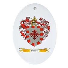 Gomez Oval Ornament