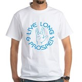 Startrektv Mens Classic White T-Shirts