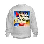 4th of July Kids Sweatshirt