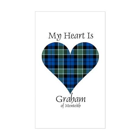 Heart - Graham of Menteith Sticker (Rectangle)
