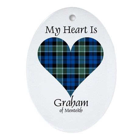 Heart - Graham of Menteith Ornament (Oval)