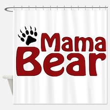 Mama Bear Claw Shower Curtain