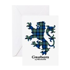 Lion - Graham of Menteith Greeting Card