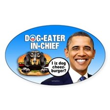 Dog-Eater in Chief Decal