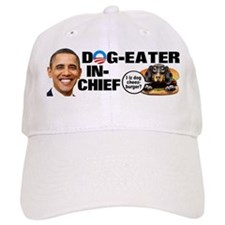 Dog-Eater in Chief Baseball Cap