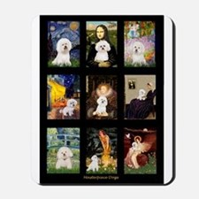 Bichon Masterpieces (A) Mousepad