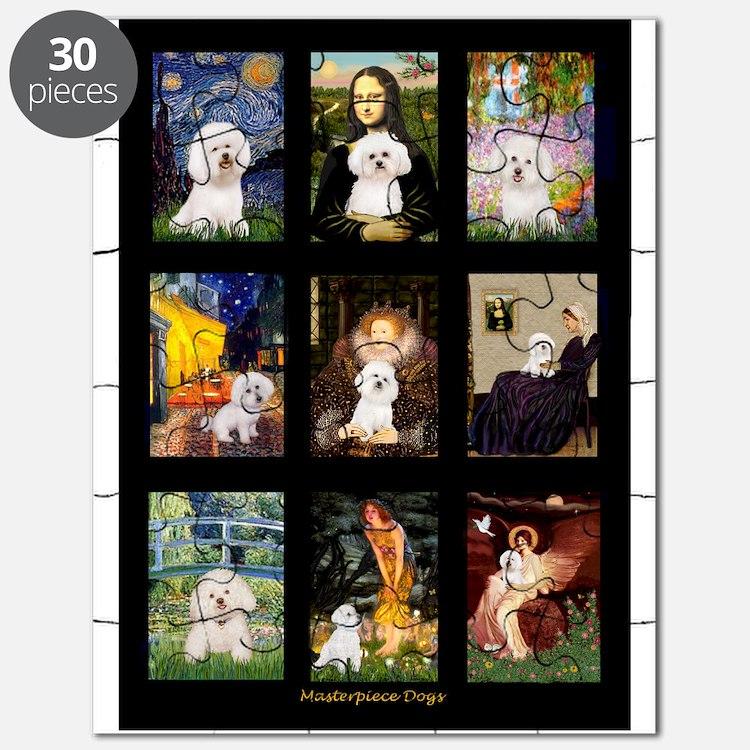 Bichon Masterpieces (A) Puzzle