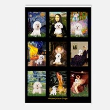 Bichon Masterpieces (A) Postcards (Package of 8)