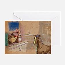 Velvet-Rabbit 1 Greeting Card