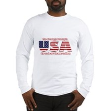 The Greatest American Generat Long Sleeve T-Shirt