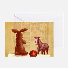 Velvet-Rabbit 2 Greeting Card