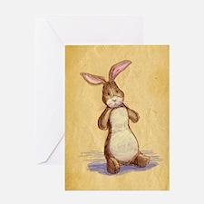 Velvet-Rabbit 8 Greeting Card