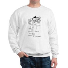 UPSIDE-down Yacht Parts Sweatshirt