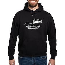 gluten...nail in my coffin Hoodie