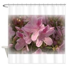 rhododendron pink Shower Curtain