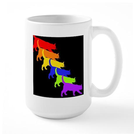 WMM Rainbow CAT Large Mug
