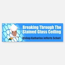 STAINED GLASS CEILING Bumper Bumper Bumper Sticker